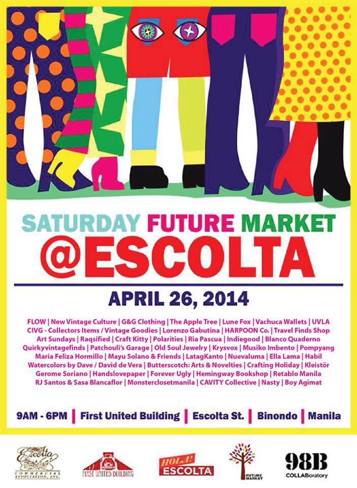 98B Saturday Future Market at Escolta