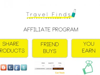 Travel Finds Shop Launches Its Affiliate Program