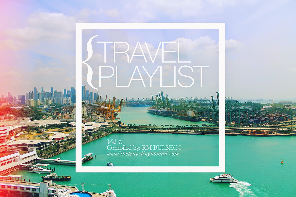 Travel Tip: preset your playlist or download/subscribe to pre-curated playlist by your favorite lifestyle bloggers or on Spotify