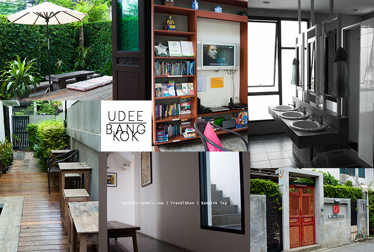 One of our great finds in Bangkok--Udee Bangkok Hostel