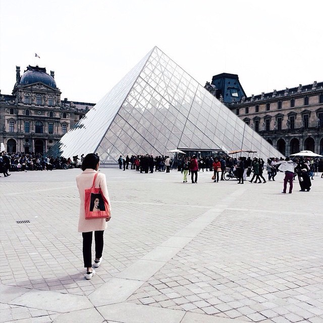 Arra in Paris with Celine