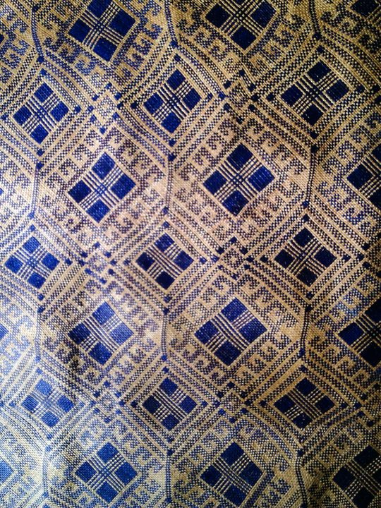 Travel Finds Samar: Blue pattern