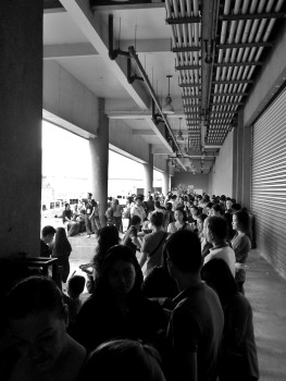 Travel Tour Expo 2016 queue
