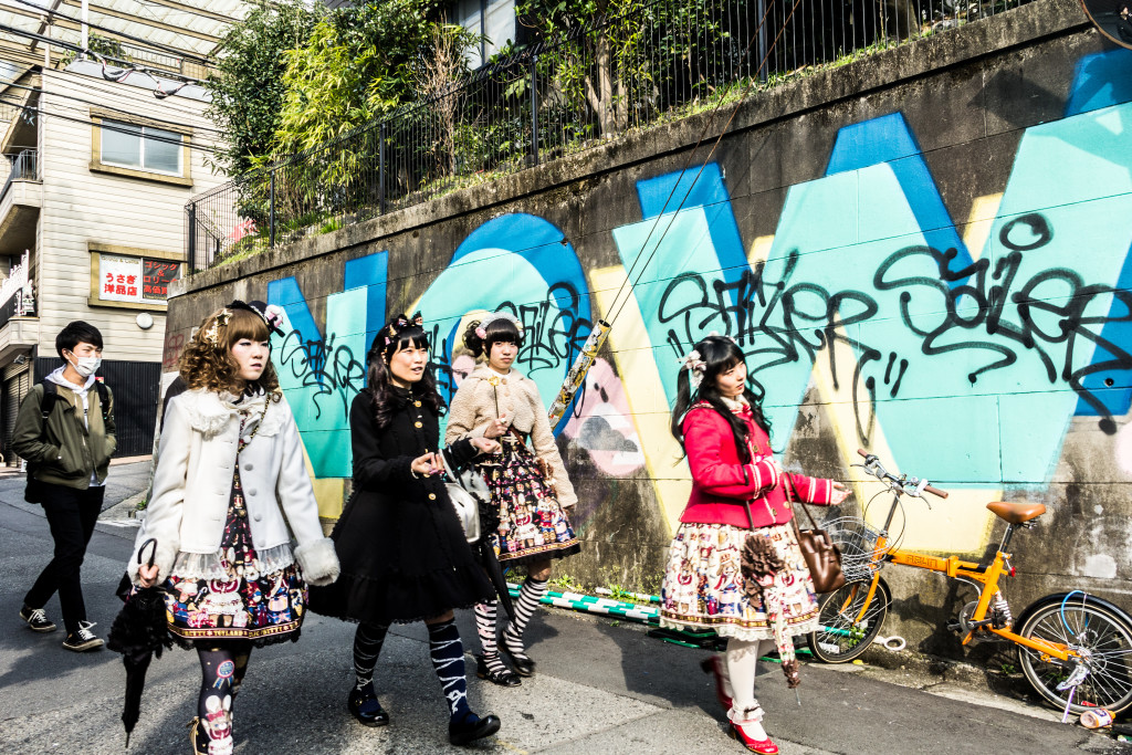 Cosplayers in Harajuku