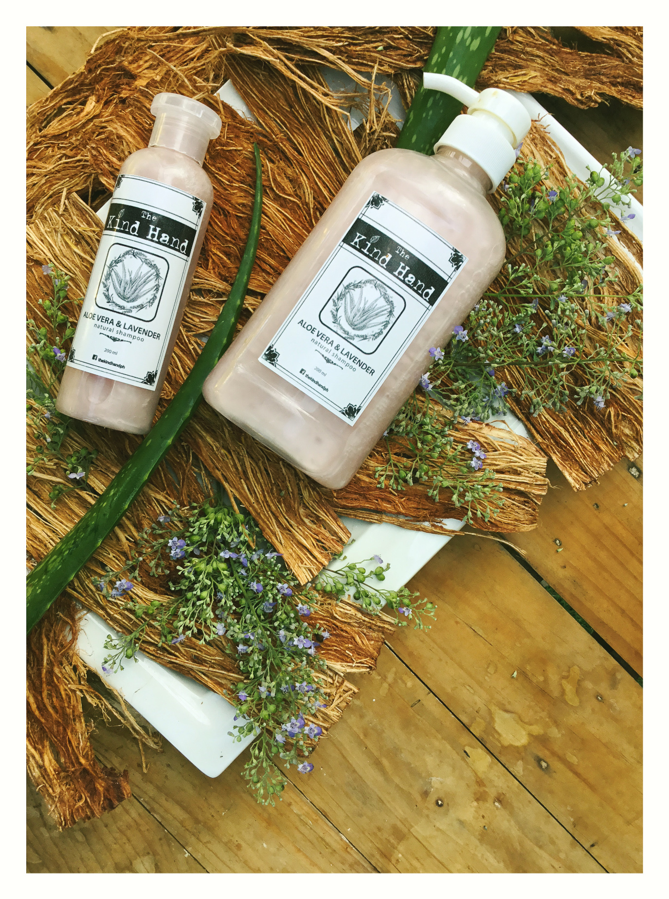 Organic Aloe Vera Lavender Shampoo