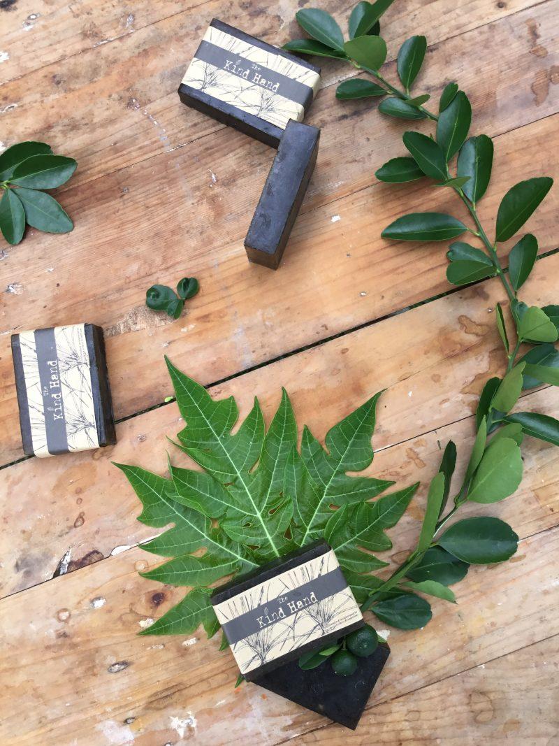 Papaya Leaves Calamansi Lemongrass Glycerine Soap