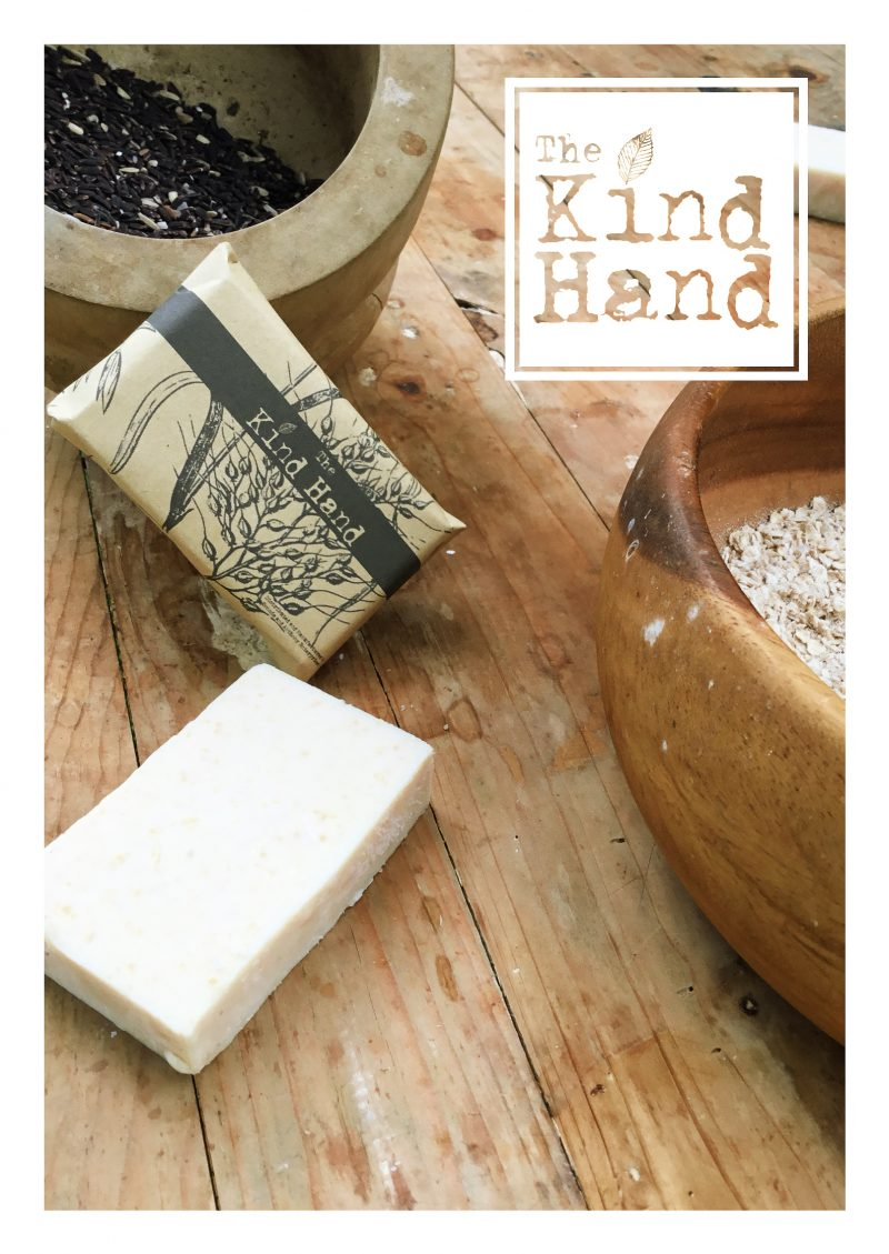 ORGANIC BLACK RICE OATS SOAP