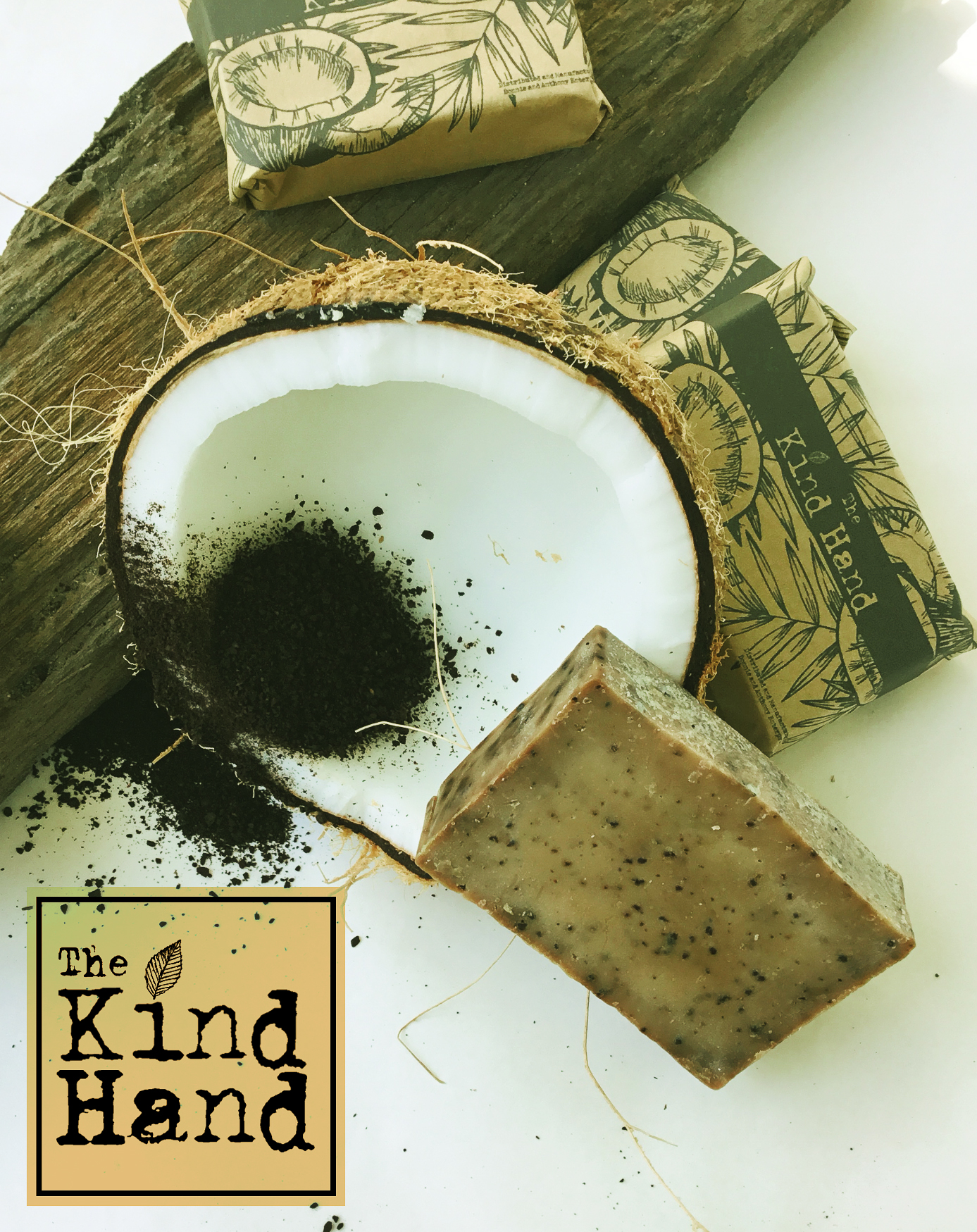 Organic Coconut Milk Roasted Coffee Beans Soap